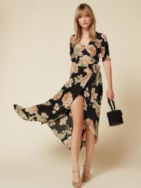Addilyn Dress in Chateaux at The Reformation