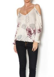 Adelia floral blouse by Free People at Shoptiques