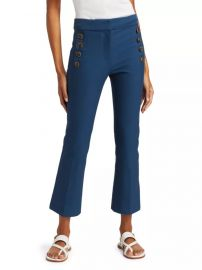 Adeline Cropped Flare Trousers by Derek Lam 10 Crosby at Saks Fifth Avenue