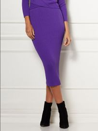 Adelle Sweater Skirt - Eva Mendes Collection  at NY&C