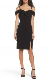 Adelyn Rae Shelby Cold Shoulder Sheath Dress at Nordstrom