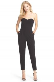 Adelyn Rae Strapless Jumpsuit at Nordstrom