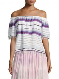 Adia Striped Off-The-Shoulder Top by LemLem at Saks Off 5th