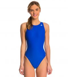 Adidas High Neck One Piece Waterpolo Swimsuit at Swim Outlet