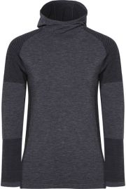 Adidas Performance Climaheat stretch-jersey hooded top at Net a Porter