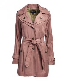 Adobe Hooded Trench Coat by London Hog at Zulily