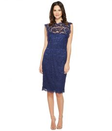 Adrianna Papell Nouveau Scroll Lace Cocktail Dress at Zappos
