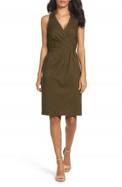 Adrianna Papell Sleeveless Shirtdress at Nordstrom