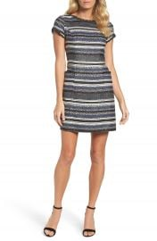 Adrianna Papell Stripe Sheath Dress at Nordstrom