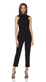 Adrianna Papell Womens Knit Crepe Roll Neck Jumpsuit at Amazon