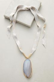 Agate Pendant Necklace at Anthropologie