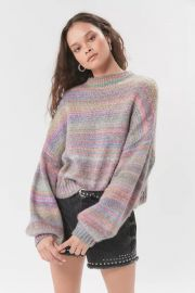 Agatha Balloon Sleeve Sweater at Urban Outfitters