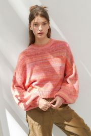 Agatha Balloon Sleeve Sweater by Urban Outfitters at Urban Outfitters