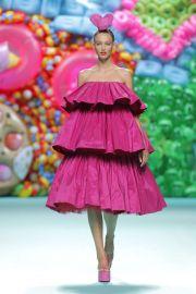 Agatha Ruiz De La Prada Spring 2018 Pink Dress at Fashion Network
