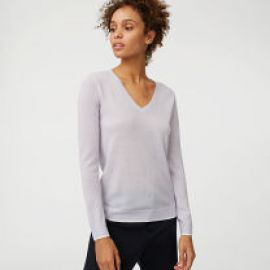 Agnes Tipped Sweater at Club Monaco