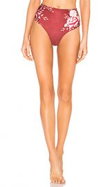 Agua Bendita Alicia Reversible Bikini Bottom in Aura from Revolve com at Revolve
