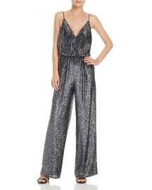 Aidan Mattox Sequin Jumpsuit at Bloomingdales