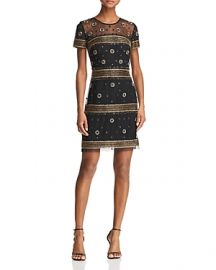 Aidan Mattox Beaded Cocktail Dress at Bloomingdales
