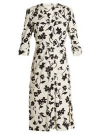 Aimee floral-print crepe-cady shirtdress at Matches
