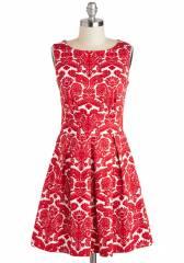 Aint We Haute Fun Dress in Floral Flourish at ModCloth