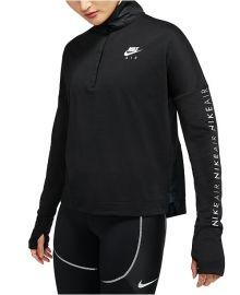 Air Half-Zip Running Top by Nike at Macys