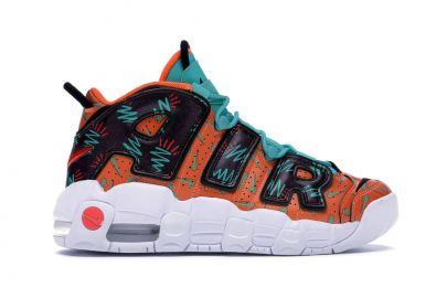 Air More Uptempo What The 90s Sneakers by Nike at Stockx