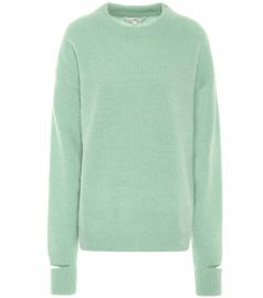 Airy alpaca-blend sweater at Mytheresa