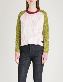 Akar cutout wool and cashmere-blend sweater at Selfridges