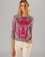 Akker Lion sweater by Maje at Bloomingdales