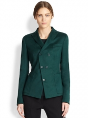 Akris Punto - Asymmetrical Button-Front Blazer at Saks Fifth Avenue