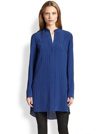 Akris Punto - Silk Punto Dot-Appliquand233 Tunic at Saks Fifth Avenue