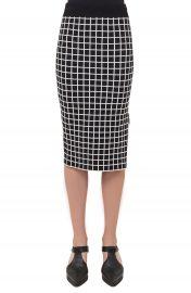 Akris punto Grid Knit Pencil Skirt at Nordstrom