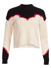 Alanui - Western Laplonia Cashmere Sweater at Saks Fifth Avenue