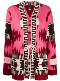 Alanui Aztec Pattern Cardigan  - Farfetch at Farfetch