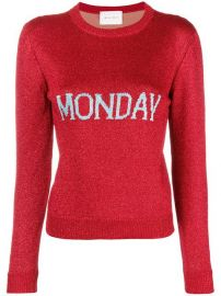Alberta Ferretti Monday Knit Jumper - Farfetch at Farfetch
