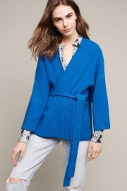 Alcott Belted Cardigan at Anthropologie