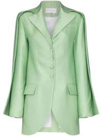 Aleksandre Akhalkatsishvili Double Sleeve Tailored Blazer - Farfetch at Farfetch