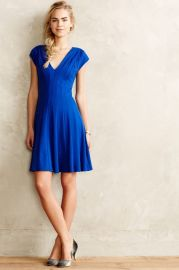Alena Dress in Blue at Anthropologie
