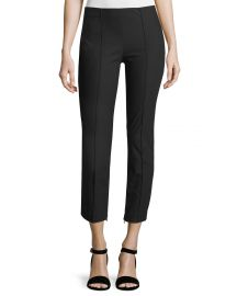 Alettah Approach 2 Single-Pleat Pants by Theory at Neiman Marcus