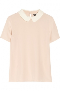 Alex Collar Blouse by Marc by Marc Jacobs at Net A Porter