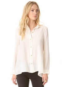 Alex Crepe de Chine Blouse by Marc by Marc Jacobs at Shopbop