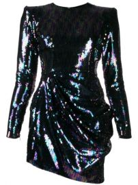 Alex Perry Iris Sequin Mini Dress - Farfetch at Farfetch