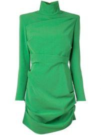 Alex Perry Ruched Pierce Mini Dress - Farfetch at Farfetch