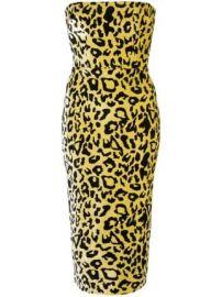 Alex Perry velvet touch strapless dress velvet touch strapless dress at Farfetch