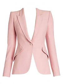 Alexander McQueen - One-Button Jacket at Saks Fifth Avenue