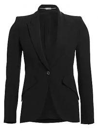 Alexander McQueen - Peak Shoulder Blazer at Saks Fifth Avenue