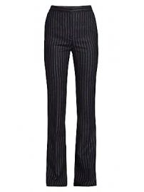 Alexander McQueen - Pinstripe Wool Pants at Saks Fifth Avenue
