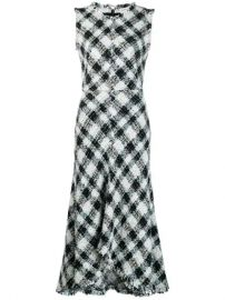 Alexander McQueen  Sleeveless Tweed Dress - Farfetch at Farfetch