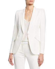 Alexander McQueen Classic Double-Breasted Suiting Blazer at Neiman Marcus