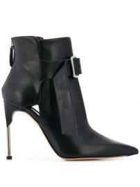 Alexander McQueen Front Buckle Boots - Farfetch at Farfetch